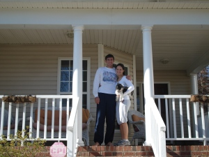 Our first home.