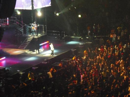 Little Wayne performing!