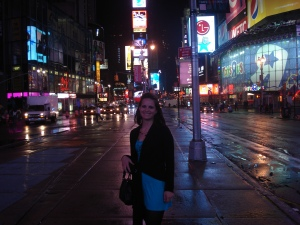 Staying in Times Square was AWESOME!