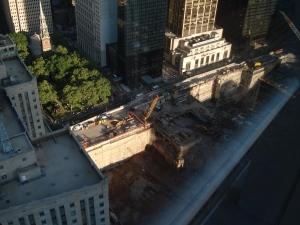 Ground Zero view from above