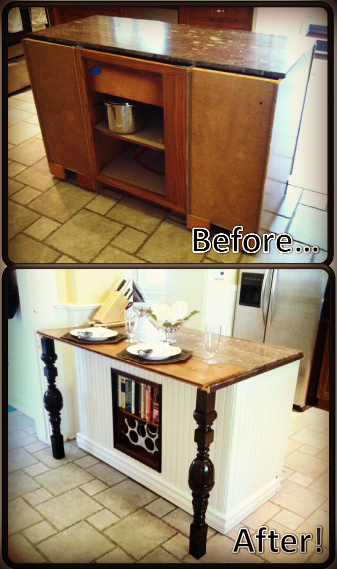 DIY Kitchen Island Renovation | pieces of ME.
