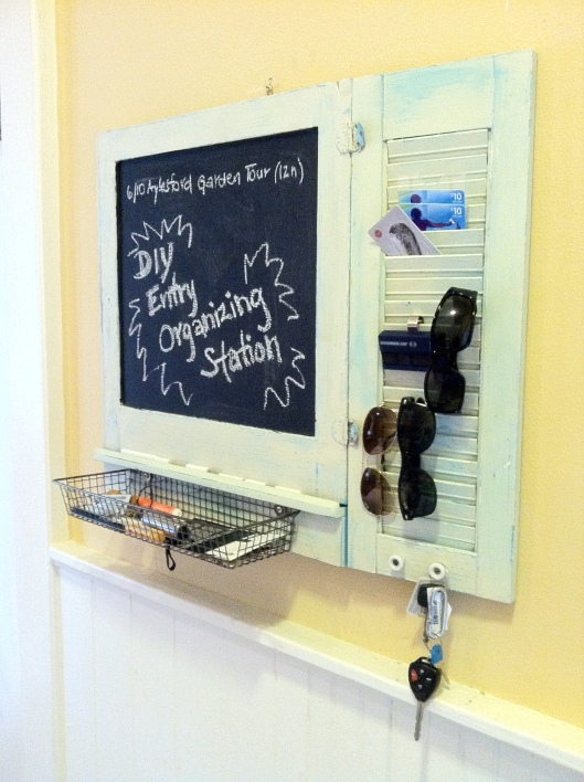 organizing system has just the right amount of room for the everyday items you need most
